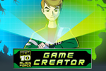 Create and share your own games with the Ben 10 Alien Force Game Creator!