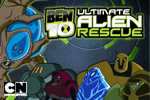Run, jump, and blast your way through the Plumber ship as Ben in Ben 10: Ultimate Alien Rescue!