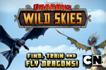 Get ready to ride a dragon in the new Dreamworks Dragons game, Wild Skies!