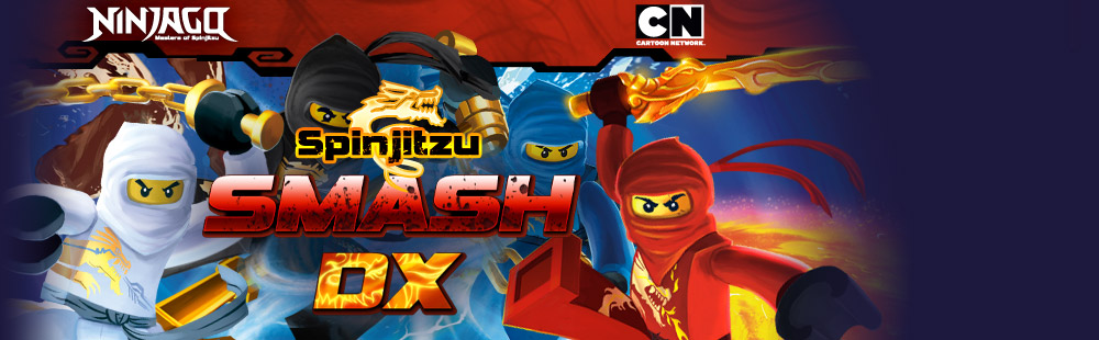 Cartoon Network Ninjago Spinjitzu Smash DX