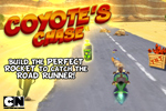 Coyote Chase, a Looney Toons game, lets you play as Wile E. Coyote trying to build the perfect rocket to catch the Road Runner!