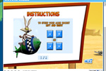 Screenshot of Cartoon Network Looney Toons Coyote Chase