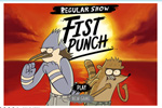 Screenshot of Regular Show: Fist Punch