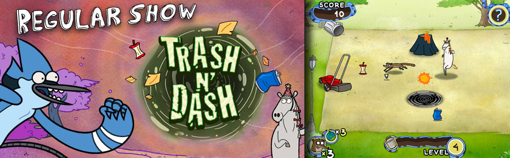 Cartoon Network - Regular Show: Trash N' Dash