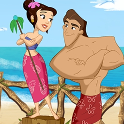 Coconut Queen - Soak up the sun and build a paradise empire in Coconut Queen! - logo