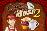 Wake up and sell the coffee in Coffee Rush 2!