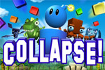 The blockbusting hit COLLAPSE! returns with fantastic foes like Blockzilla.