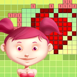 Color Cross - Color Cross combines numbers, logic, and color to create a picture puzzle! - logo