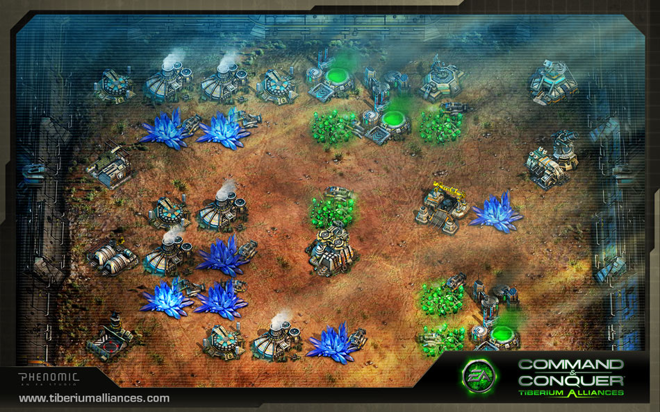 Command and Conquer: Tiberium Alliances screen shot