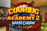 Enter a world of culinary delights with Cooking Academy 2: World Cuisine!
