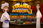 Get ready for a new and exciting culinary adventure with Cooking Academy 3: Recipe for Success!