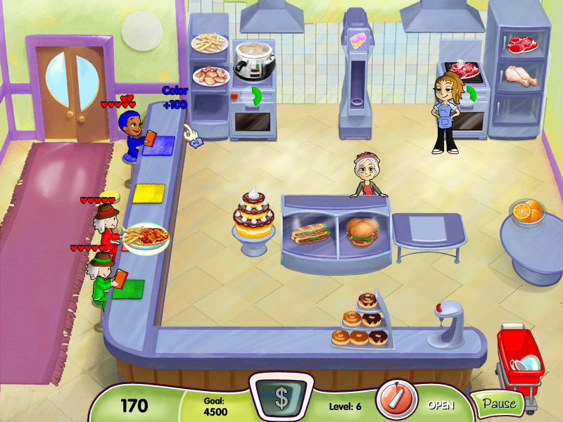 Cooking Dash screen shot