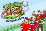 Meet young Flo and DinerToons in Cooking Dash 3: Thrills and Spills!