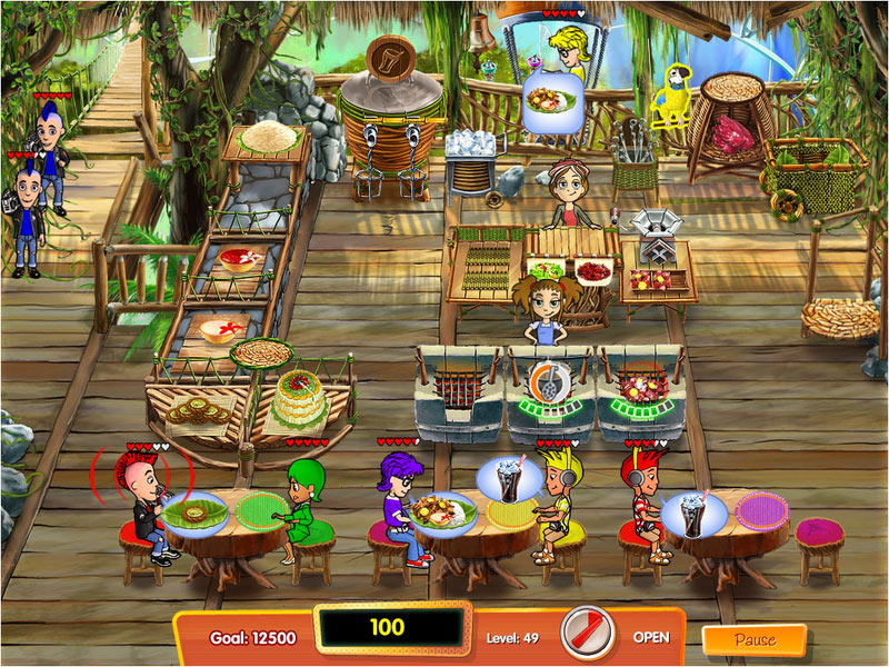 Cooking Dash 3: Thrills and Spills screen shot