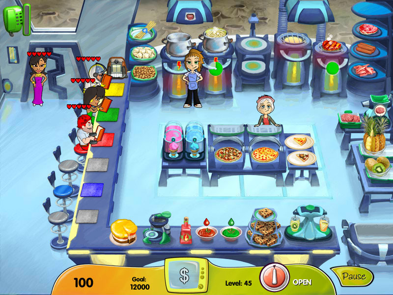 Cooking Dash - DinerTown Studios screen shot