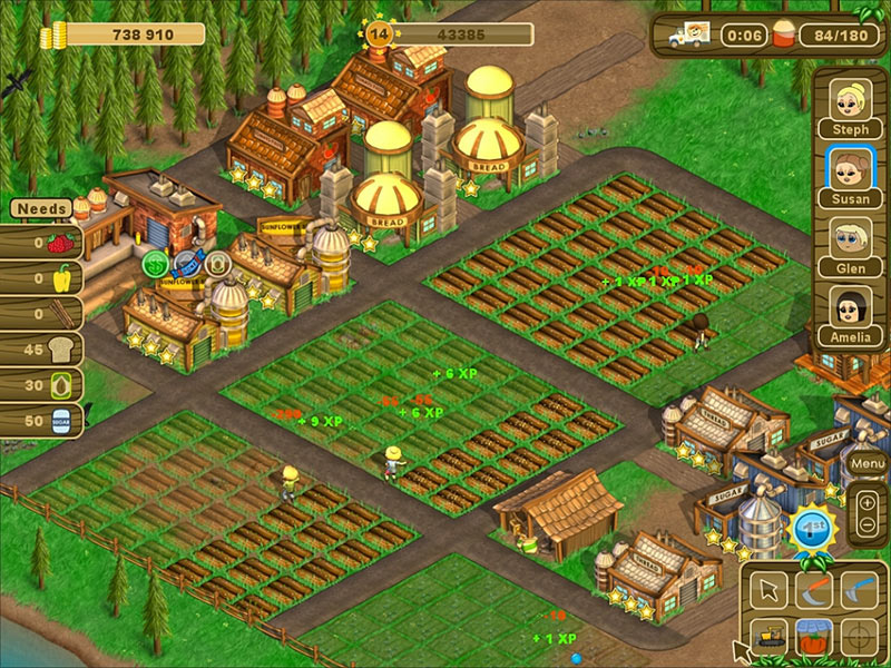 Country Harvest screen shot