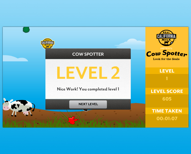Cow Spotter screen shot