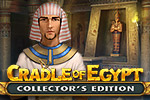 Explore the land of the Pharaohs and build the Great Pyramids in this Match-3 puzzle game. Play the Collector's Edition of Cradle of Egypt!