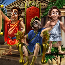 Cradle of Rome - Solve matching puzzles to become Emperor of Rome in Cradle of Rome! - logo