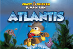 Jump, run, swim, and explore in Crazy Chicken: Atlantis! Get to the bottom of an ancient mystery in this whimsical adventure game.