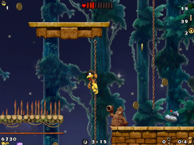 Crazy Chicken: Atlantis screen shot