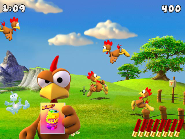 Crazy Chicken Invasion screen shot