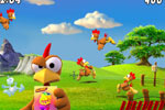 Screenshot of Crazy Chicken Invasion