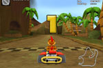 Screenshot of Crazy Chicken Kart 2