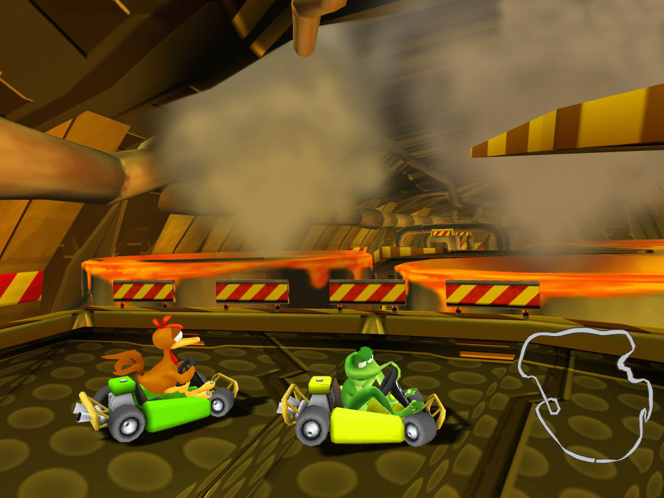 Crazy Chicken Kart 2 screen shot