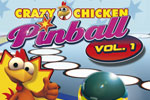 Crazy Chicken Pinball includes five action-packed pinball tables!