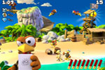 Screenshot of Crazy Chicken Pirates