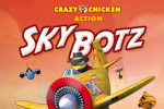 Shoot down robots and reach refueling checkpoints to become the world's greatest flying chicken in Crazy Chicken Skybotz!