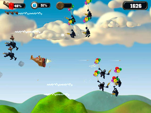 Crazy Chicken Skybotz screen shot