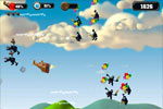 Screenshot of Crazy Chicken Skybotz