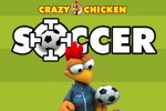 Crazy Chicken Soccer is two sports games in one!  Sweep players off the field and score goals by using bicycle kicks!