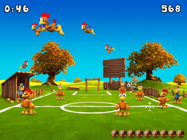 Crazy Chicken Soccer screen shot