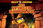Run and jump through 30 levels in Crazy Chicken - The Winged Pharaoh!