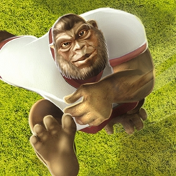 Crazy Kickers - All the world's animals are teaming up for a huge soccer championship! Crazy Kickers is a great soccer game for the PC. - logo