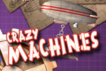Build and destroy wacky contraptions to solve puzzles in Crazy Machines!