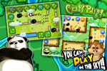 Use your Crazy Panda to knock your enemies into holes. In this physics-based puzzle game, you must utilize the game board itself to be victorious.