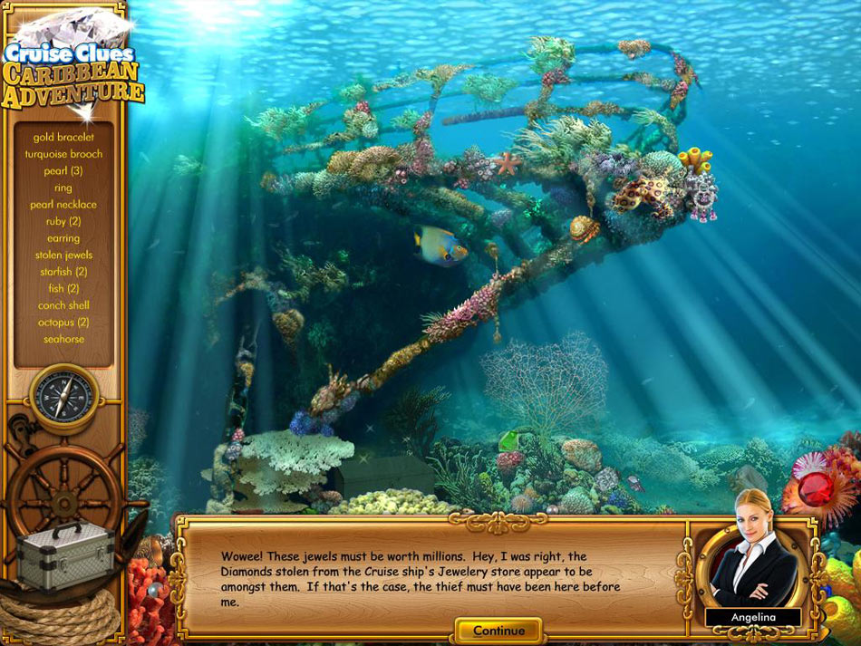 Cruise Clues - Caribbean Adventure screen shot