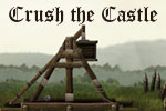 In Crush the Castle, use a powerful trebuchet to eliminate enemy castles!