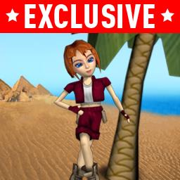 Crystal Maze - Send Lily running to escape the Land of Nod in Crystal Maze! - logo