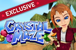 Send Lily running to escape the Land of Nod in Crystal Maze!