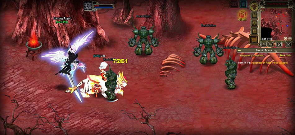 Crystal Saga screen shot