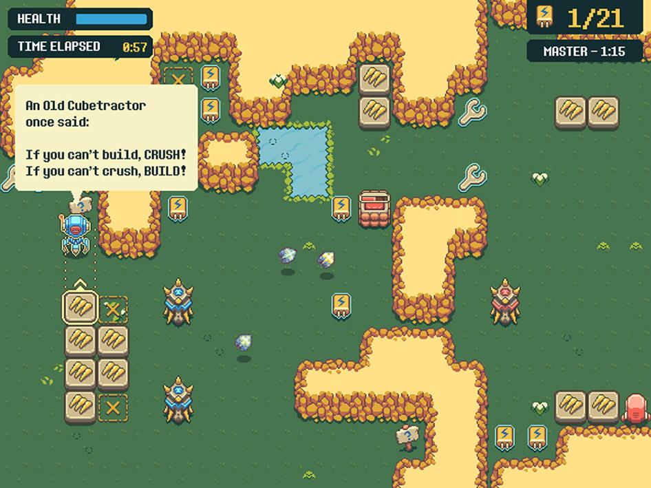 Cubetractor screen shot