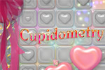 Pop big, beautiful hearts to clear puzzle levels in Cupidometry!