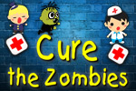 Hurry up and Cure the Zombies or everyone else might turn into zombies, too--including you!