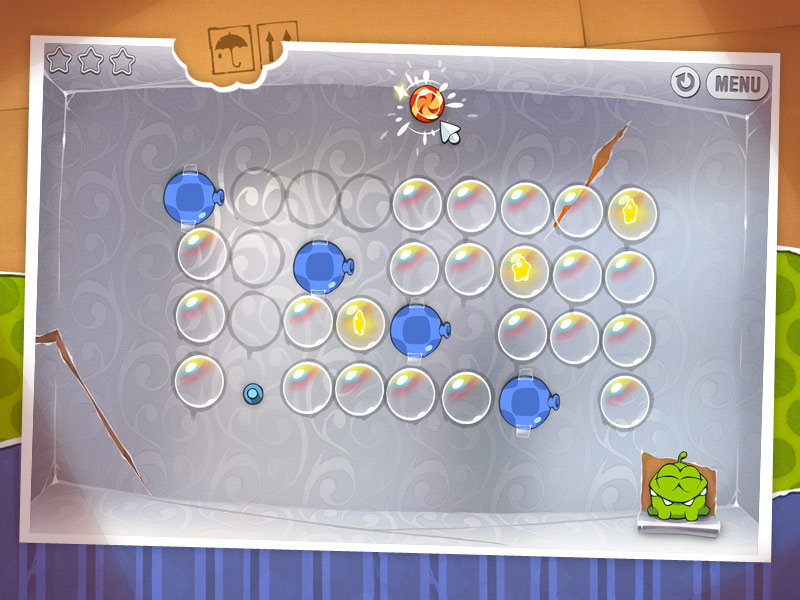 Cut the Rope screen shot