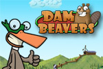 Help Quax battle beavers in waves of word game fun in Dam Beavers!